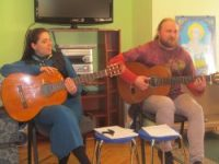 Гості XXIX  Міжнародного фестивалю авторської пісні «Булат» в бібліотеці