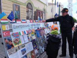 Відкриваємо Європу разом. Вулична акція