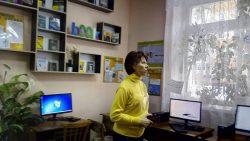 Колега з  Рівненщини завітала в бібліотеку-філію №6
