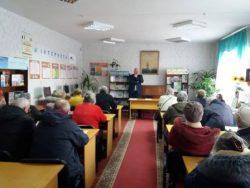 Зустріч з народним депутатом О.Медуницею в бібліотеці