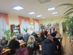 Нас єднає книга. Бібліотекарі філії №7 зустрілися з громадою Кіровського мікрорайону